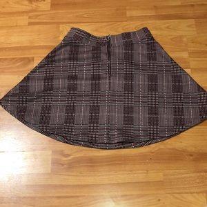 Burgundy skirt by SO